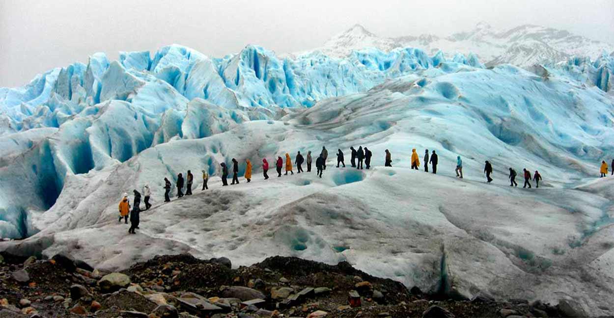Trekking sobre Perito Moreno
