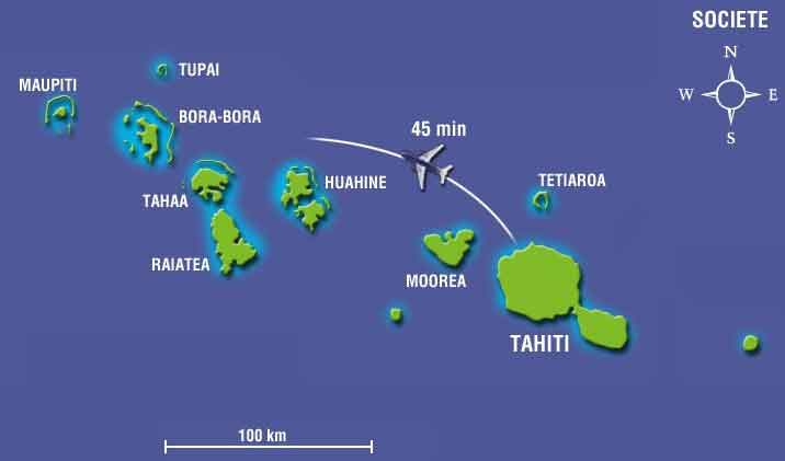 Polinesia Francesa Turismo Guia De Viaje Y Mapa Turistico De