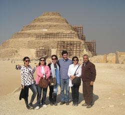 Visitamos Saqqara, con Khaled