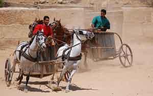 ¿La escena más famosa de Ben-Hur?