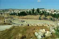 La antigua Gerasa, la Pompeya de Oriente Medio