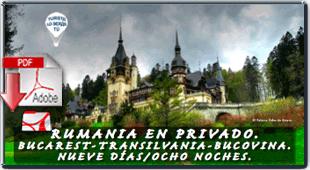 folleto pdf de la oferta de viaje a Rumania - Texturas inconfundiblemente rumanas