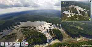 Panorámica aérea Iguazú