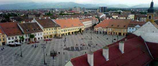 sibiu plein - Rumania turismo