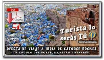 Descargar folleto pdf de la oferta Triángulo del norte, Rajastán y Benarés de catorce noches