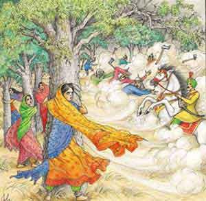 Bishnoi de Rajastán - leyenda