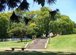 la plaza Mitre
