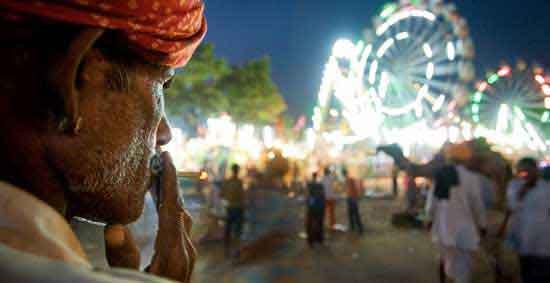 Feria de Camellos en Pushkar