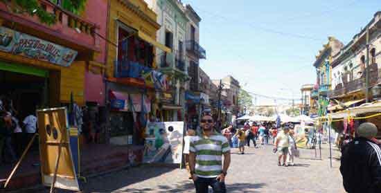 Jose en Caminito, Barrio de Boca