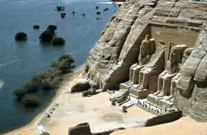 El conjunto de Abu Simbel es el segundo lugar más visitado de Egipto