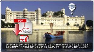 INDIA DE LOS MARAJÁS EN HOTELES DE LUJO