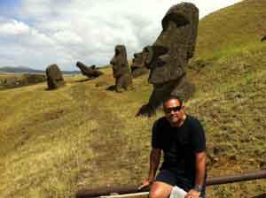 Fin de Año en Polinesia e Isla de Pascua - Miguel en la Isla de Pascua