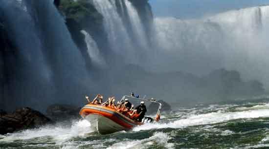 Turismo activo en Iguazú - Cânion Iguaçu