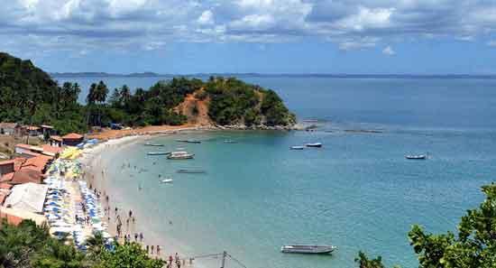 La Ilha dos Frades: la Ponta de Nossa Senhora, la playa más famosa de la Isla de los Frailes