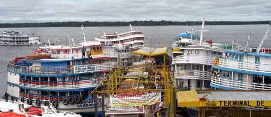 consejos crucero Amazonas- Manaus
