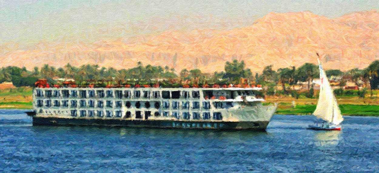 M.S. Mayfair, crucero del Nilo en una motonave de 5* Gran Lujo