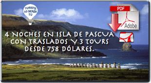 Descargar folleto pdf de la oferta de viaja a la Isla de Pacua, con más fotos e información.