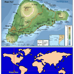 Mapa Guía de Isla de Pascua