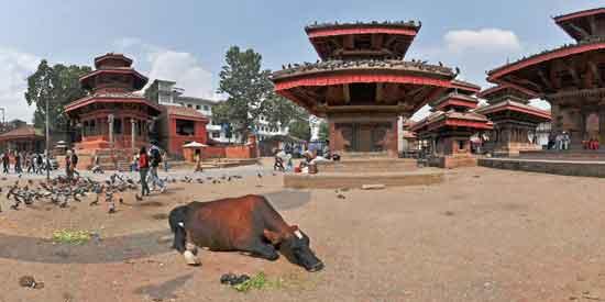 La Plaza Durbar de Katmandú