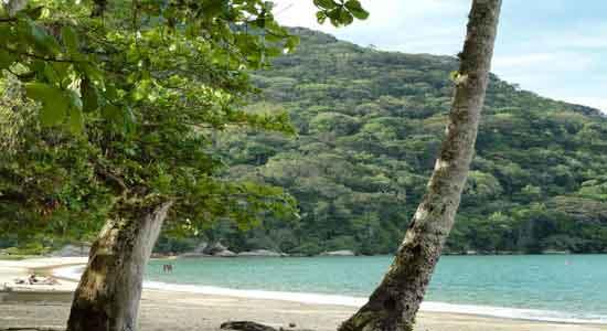 Viaje a Argentina y Brasil Playa Mangues Ousso, en Ilha Grande