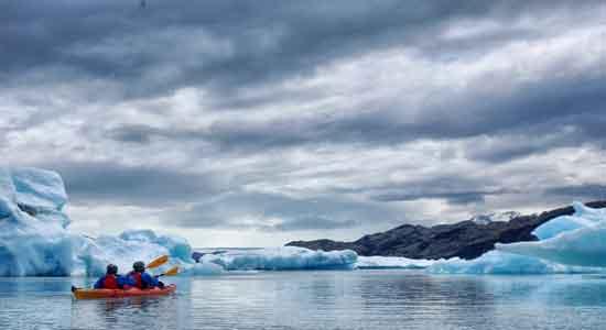 Upsala Kayak Experience con Raquel y Olga.