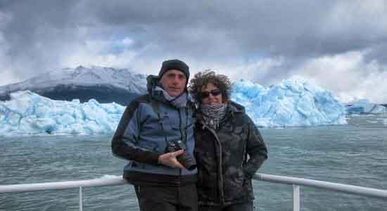 testimonio de viaje a Argentina los glaciares desde el barco