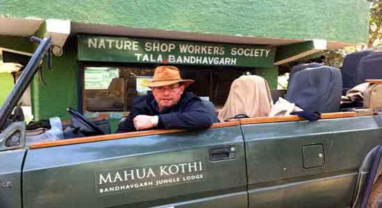 India con Miguel e Iván - Miguel en Bandhavgarh
