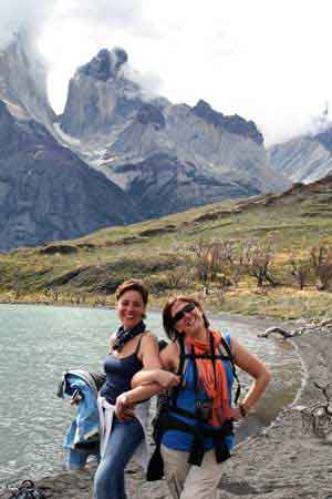 Full Day Paine desde Calafate - Paloma y Begoña en el Parque Nacional Torres del Paine