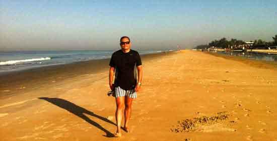 Miguel en Goa