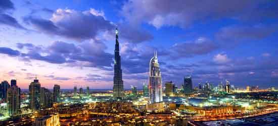 DUBAI SKYLINE burj al khalifa