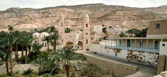 Monasterio de San Antonio, del siglo IV d.C