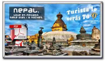 Descargar folleto pdf de la oferta de viaje a Nepal de 6 noches