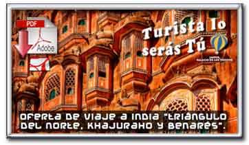 Descargar folleto pdf de nuestra oferta de viaje Triángulo del norte, Kharujaho y Benaré