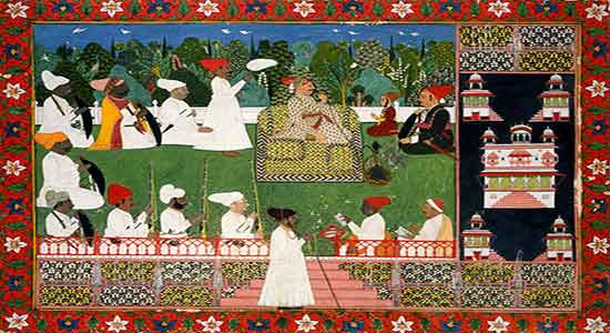 Marajá Ajit Singh del Marwar