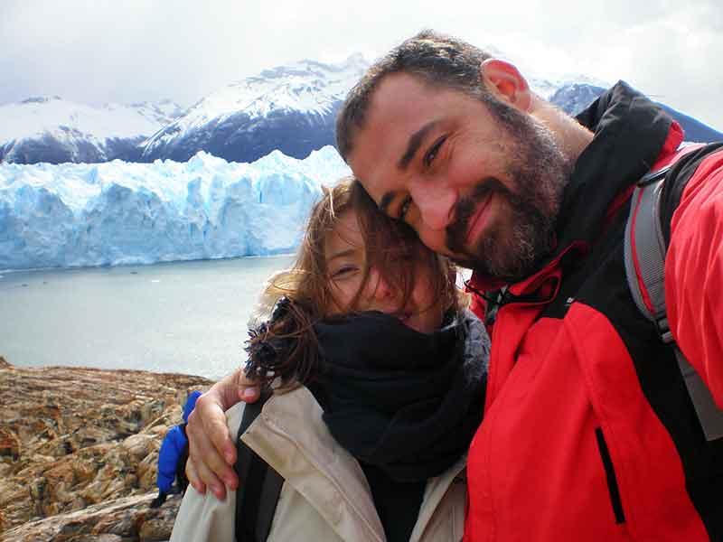 Frente del Perito Moreno.