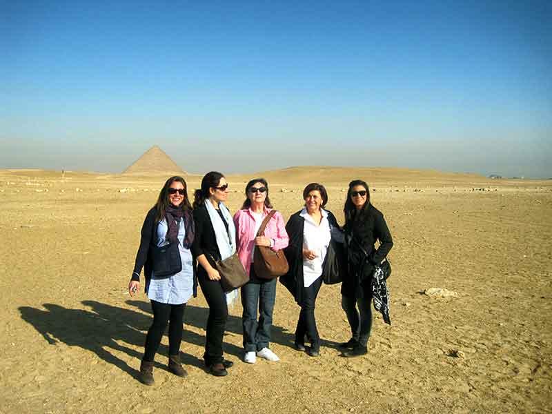 En la meseta de Giza