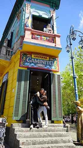 Caminito, Buenos Aires.