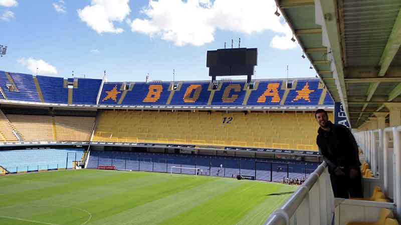 Estadio de Boca Juniors. Buenos Aires.