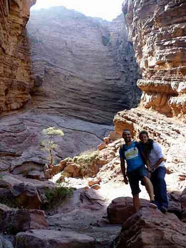 Quebrada del Río Las Conchas. Noroeste argentino.