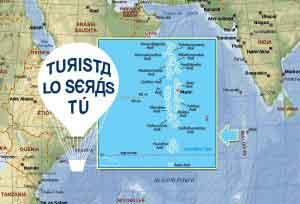 Mapa de Maldivas (hacer clic para aumentar)