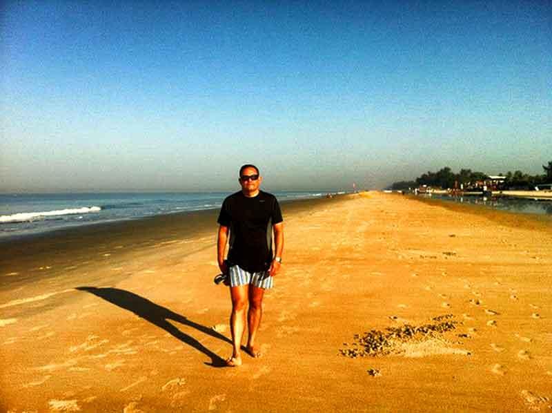 Playa de Goa.