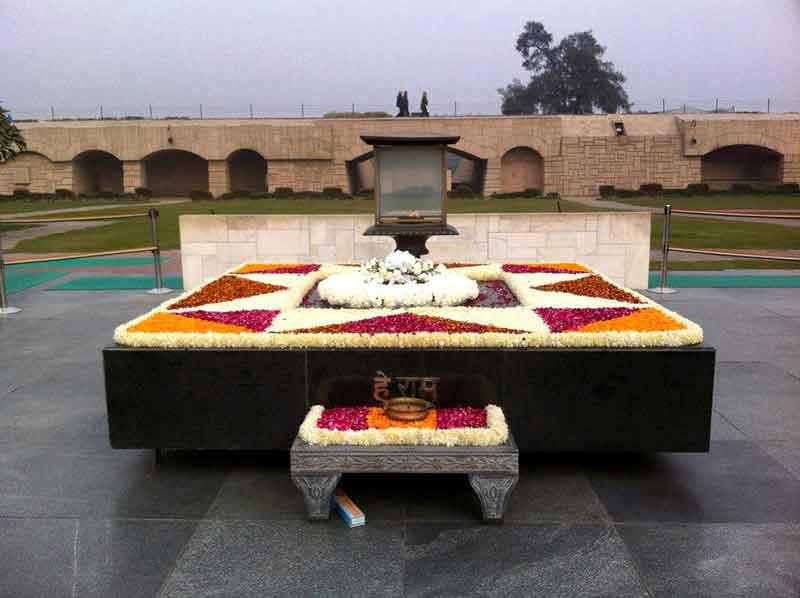 Mausoleo de Gandhi, Delhi
