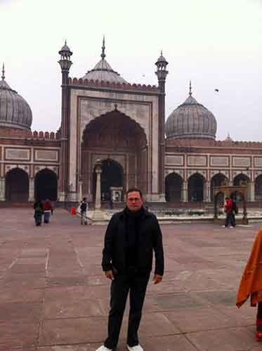 Gran Mezquita de Delhi.