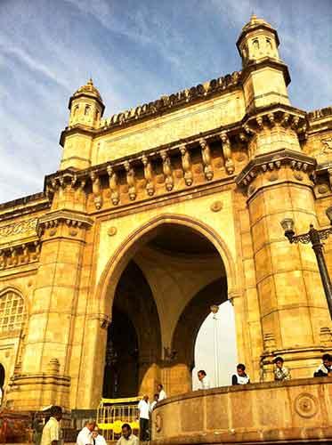 India Gate, Bombay.