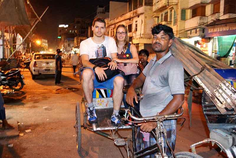 En rickshaw