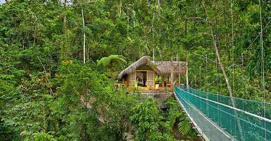 Pacuare Lodge: National Geographic lo incluyó recientemente en su lista de 25 mejores ecolodges de mundo
