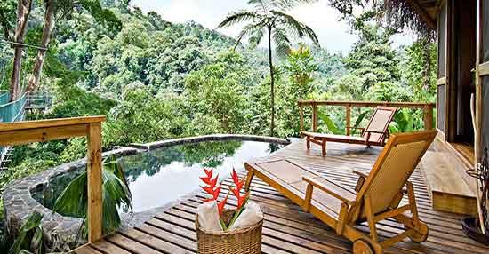 Un lodge de selva ecoconsciente y con estilo
