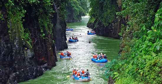 Rafting en río Pacuare