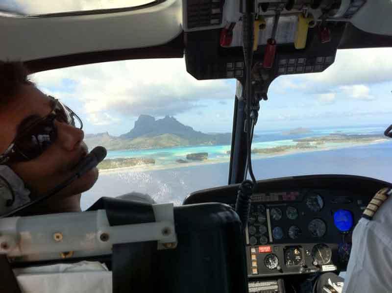 Sobrevolando Bora Bora