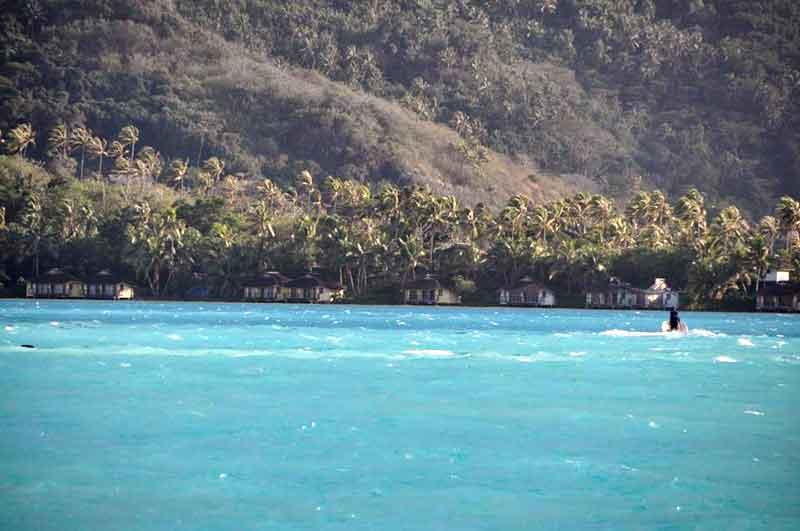 Lagoon de Bora Bora y Monte Otemanu